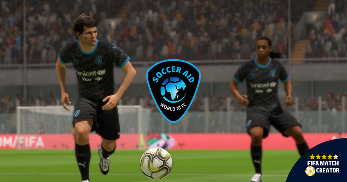Soccer Aid Team Added To Fifa 20